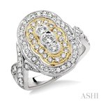 Crocker's Collection diamond fashion ring