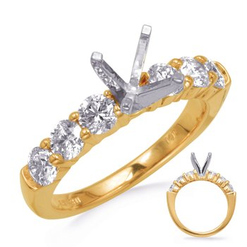 Yelow Gold Engagement Ring