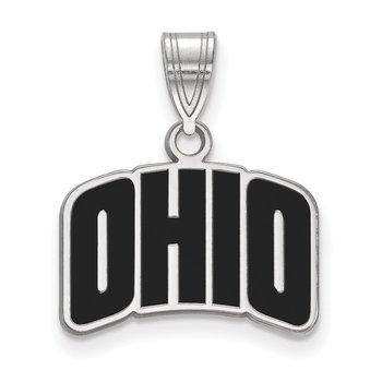 Sterling Silver Ohio University NCAA Pendant