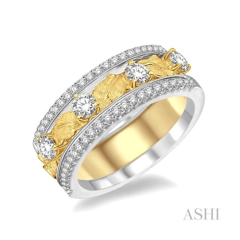 ASHI diamond three band set