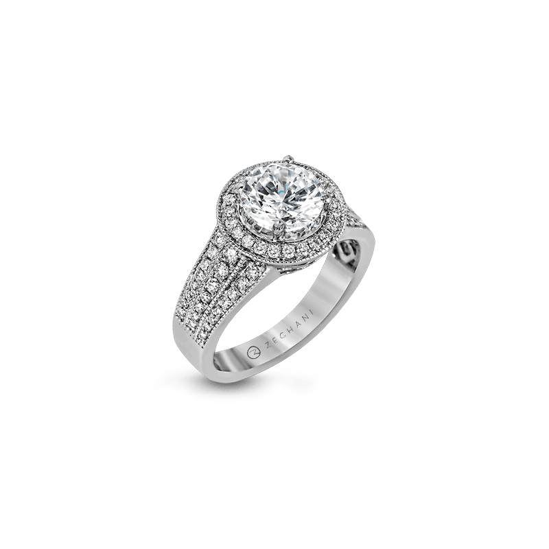 Zeghani ZR1156 ENGAGEMENT RING