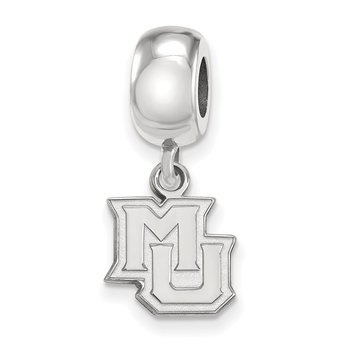 Sterling Silver Marquette University NCAA Bead