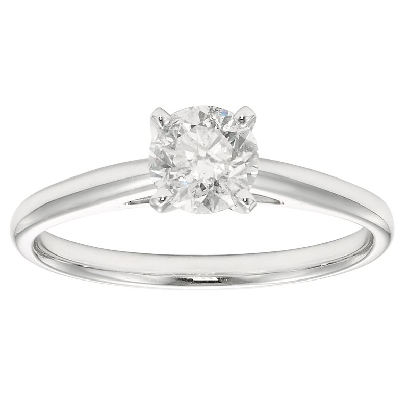 Simply Diamonds 14KW 3/4 CTW ROUND DIAMOND SOLITAIRE