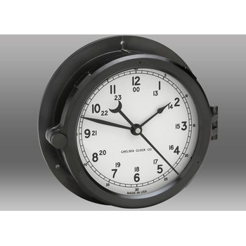 "NEW! Patriot Deck Clock - 8.5"" White Dial"