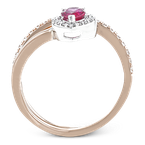 Simon G LR2334-R COLOR RING