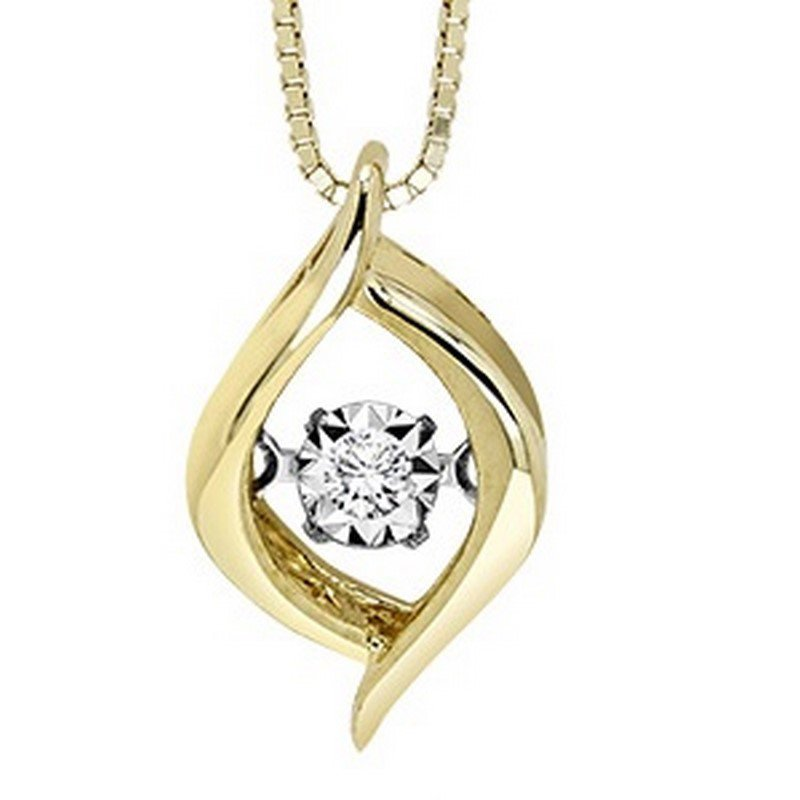 Rhythm of Love 10K Diamond Rhythm Of Love Pendant
