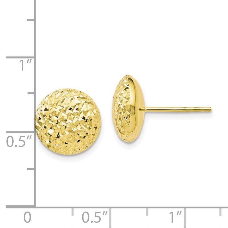 e74175ee01b53 Lambert Jewelers: Leslie's Leslie's 10k Diamond-cut Post Earrings