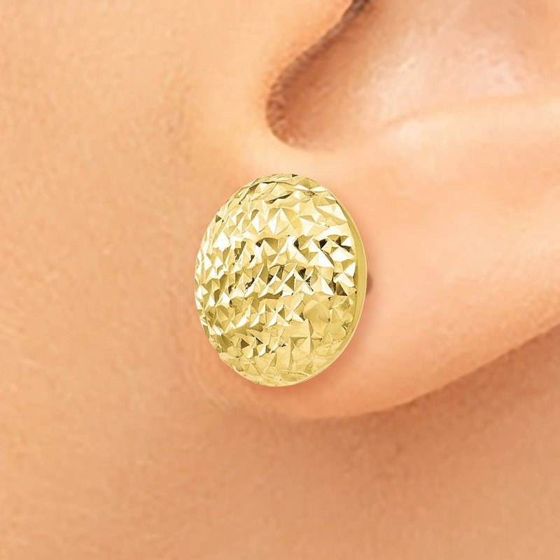 Leslie's Leslie's 10K D/C Post Earrings