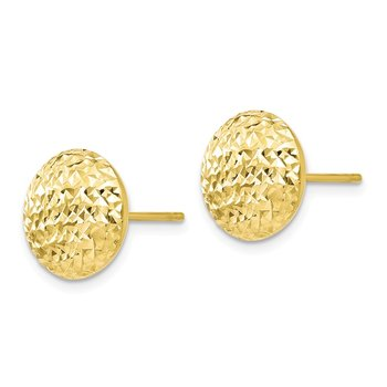 Leslie's 10K D/C Post Earrings