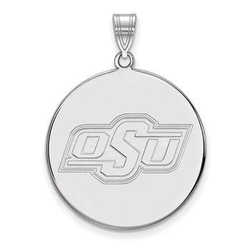 Sterling Silver Oklahoma State University NCAA Pendant