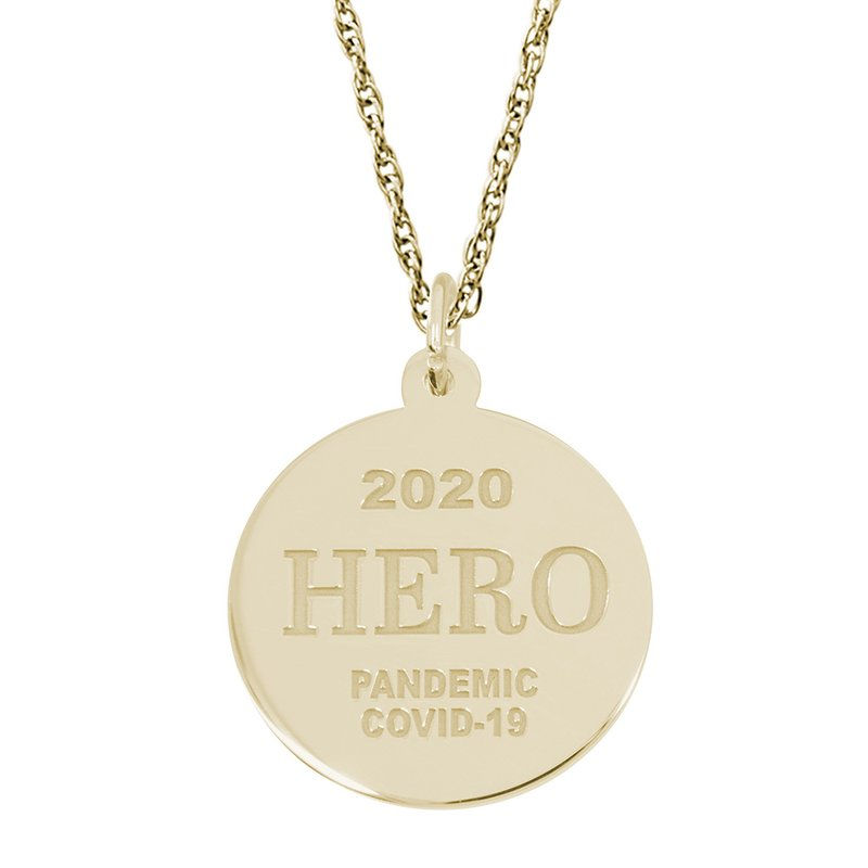 Rembrandt Charms Covid-19 Hero Necklace Set