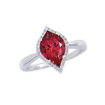 Ruby Ring-CR10426WRU