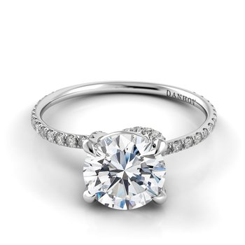 Eleganza Single Shank Engagement Ring