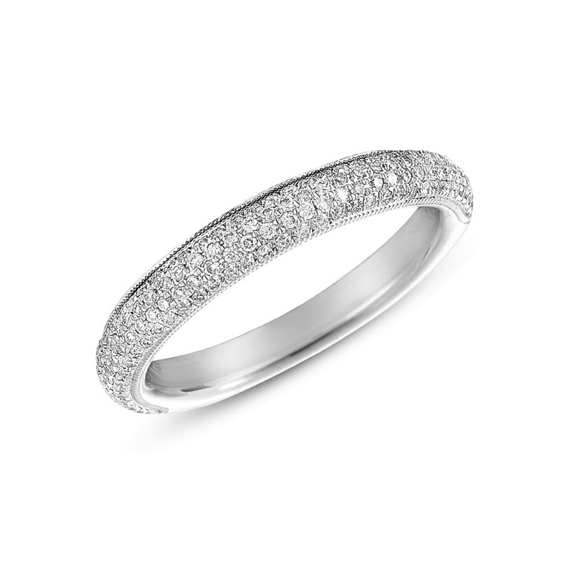 S. Kashi & Sons Bridal Diamond Pave Diamond