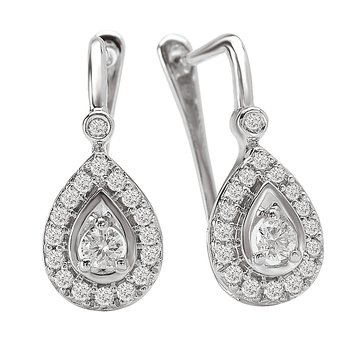 Ladies Fashion Diamond Earrings