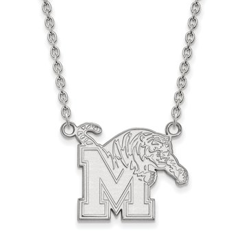 Gold University of Memphis NCAA Necklace