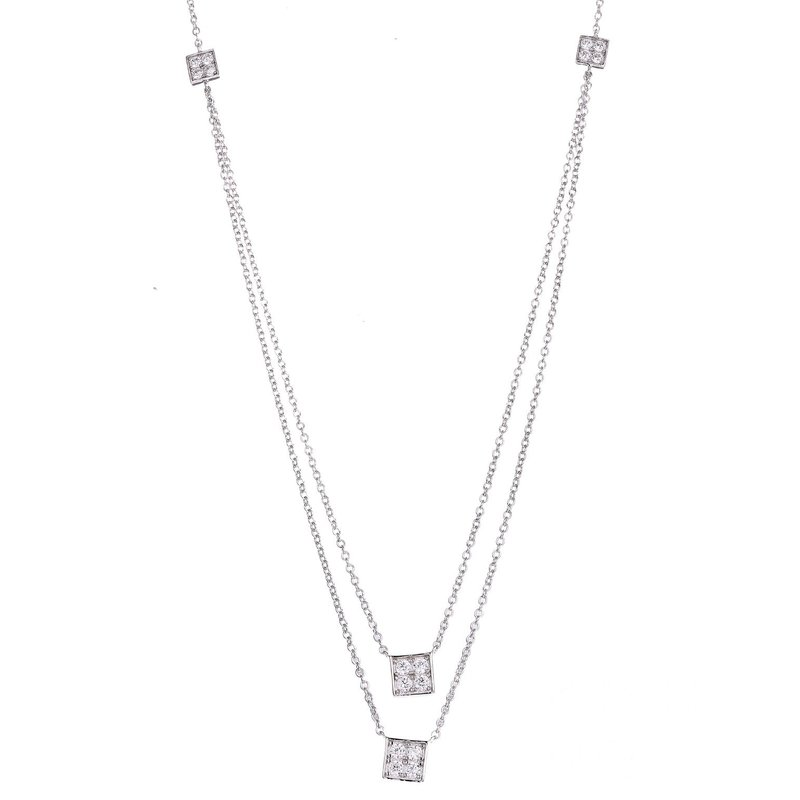 LARUS Jewelry Little Squares Necklace