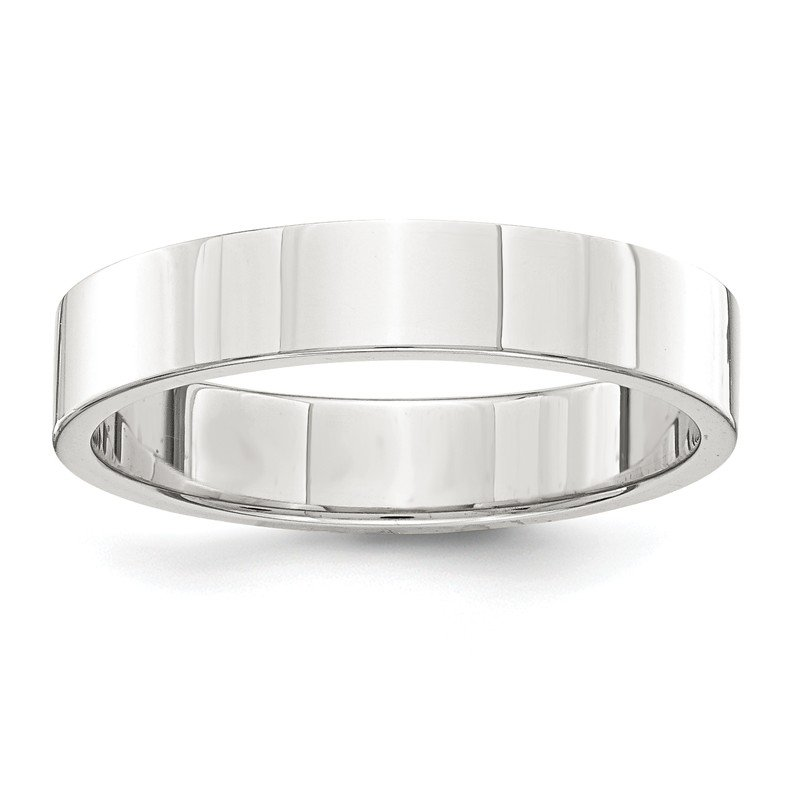 Lester Martin Online Collection Sterling Silver 4mm Flat Band