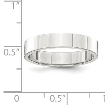 Sterling Silver 4mm Flat Band