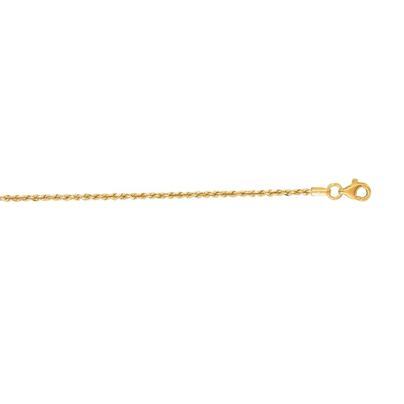 Royal Chain 14K Gold 1.5mm Royal Rope Chain