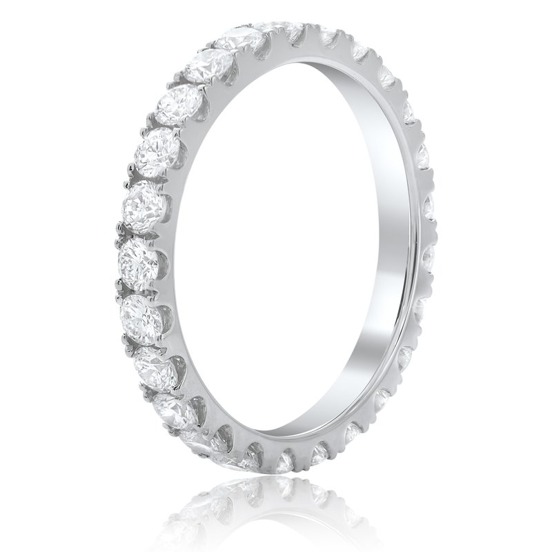 Roman & Jules Classic White Diamond Eternity Band