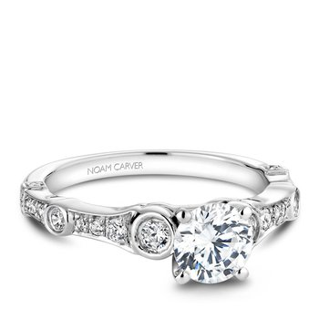 Noam Carver Regal Engagement Ring B047-01A