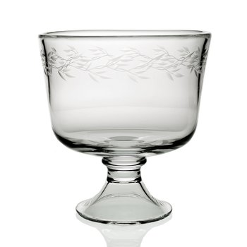 Garland Footed Trifle Bowl