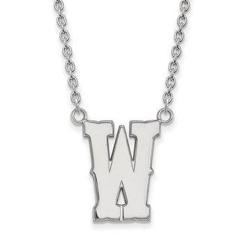 Gold University of Wyoming NCAA Necklace