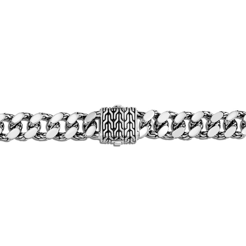 JOHN HARDY Classic Chain 11MM Curb Link Bracelet in Silver