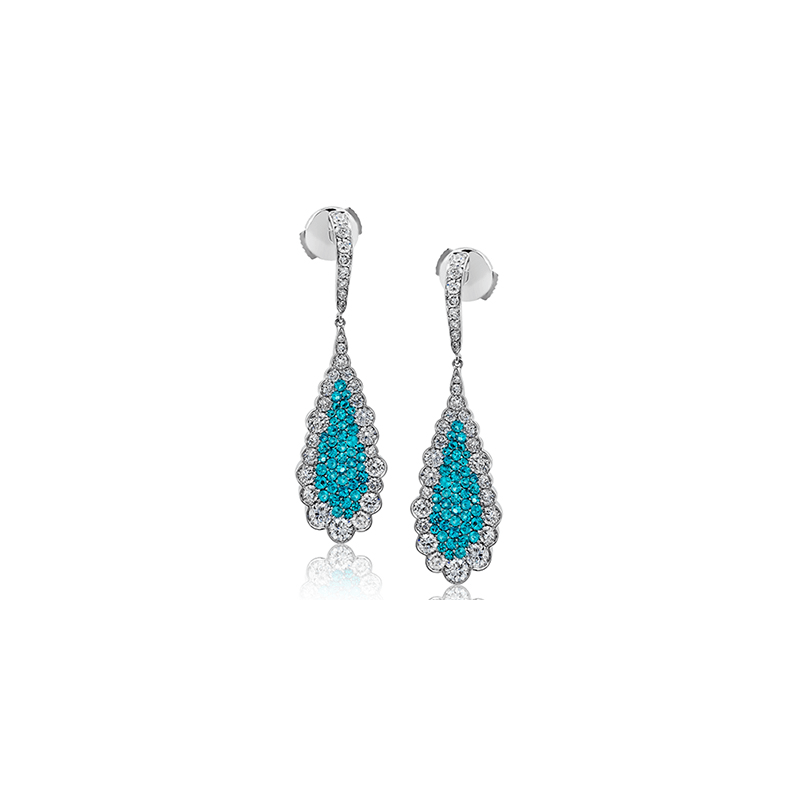 Simon G LP4311 COLOR EARRING