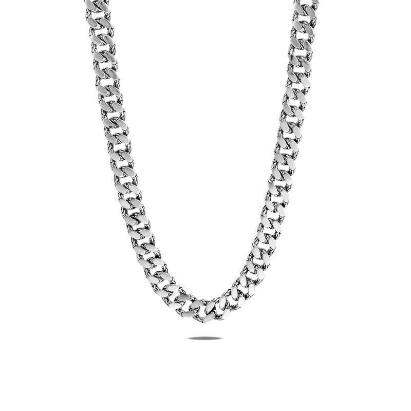 JOHN HARDY Classic Chain 11MM Curb Link Necklace in Silver