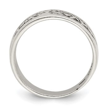 Sterling Silver Antiqued Ring