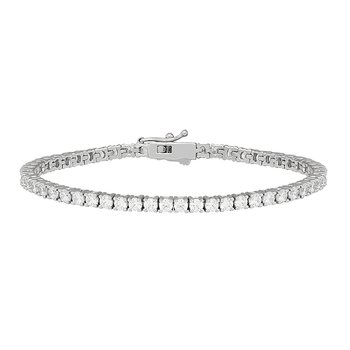 WS - The Zia Diamond Tennis Bracelet