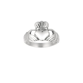 Silver Traditional Cladduagh Ring