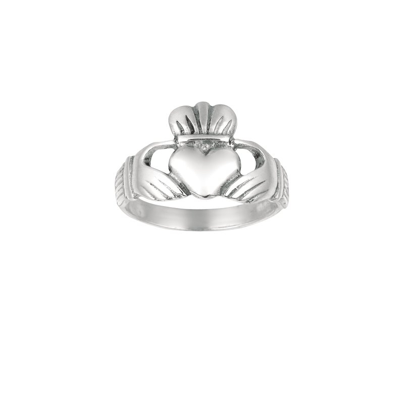Royal Chain  Silver Traditional Cladduagh Ring