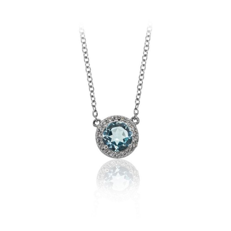 LARUS Jewelry Classic Gemstone Necklace