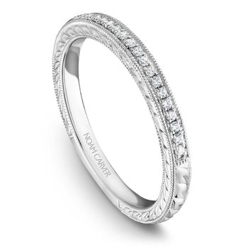 Noam Carver Wedding Band B079-01B