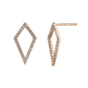 MARS 26840 Fashion Earrings, 0.27 Ctw.