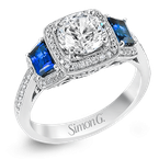 Simon G MR2247-A ENGAGEMENT RING