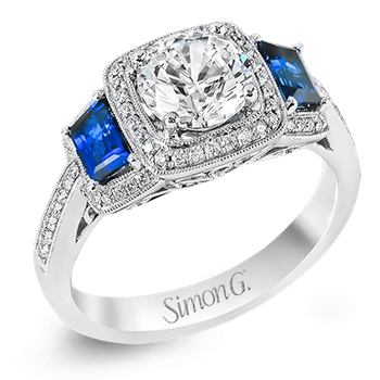 MR2247-A ENGAGEMENT RING