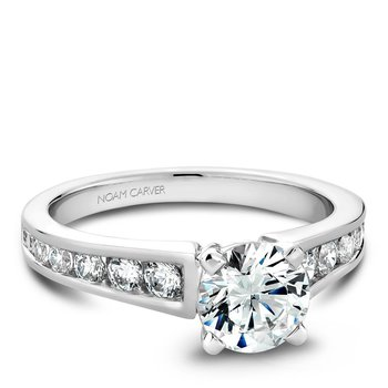 Noam Carver Modern Engagement Ring B006-01A