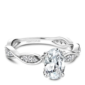Noam Carver Fancy Engagement Ring B197-02A