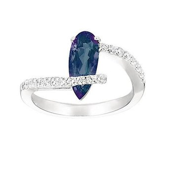 Alexandrite Ring-CR6658WAL
