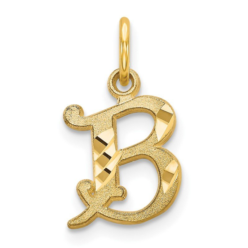 Arizona Diamond Center Collection 14k Letter B Initial Charm