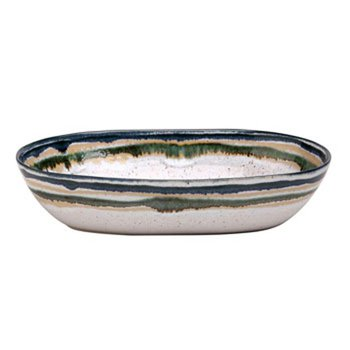 Medium Oval Serving Bowl