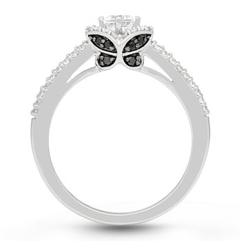 The Madeline Butterfly Ring