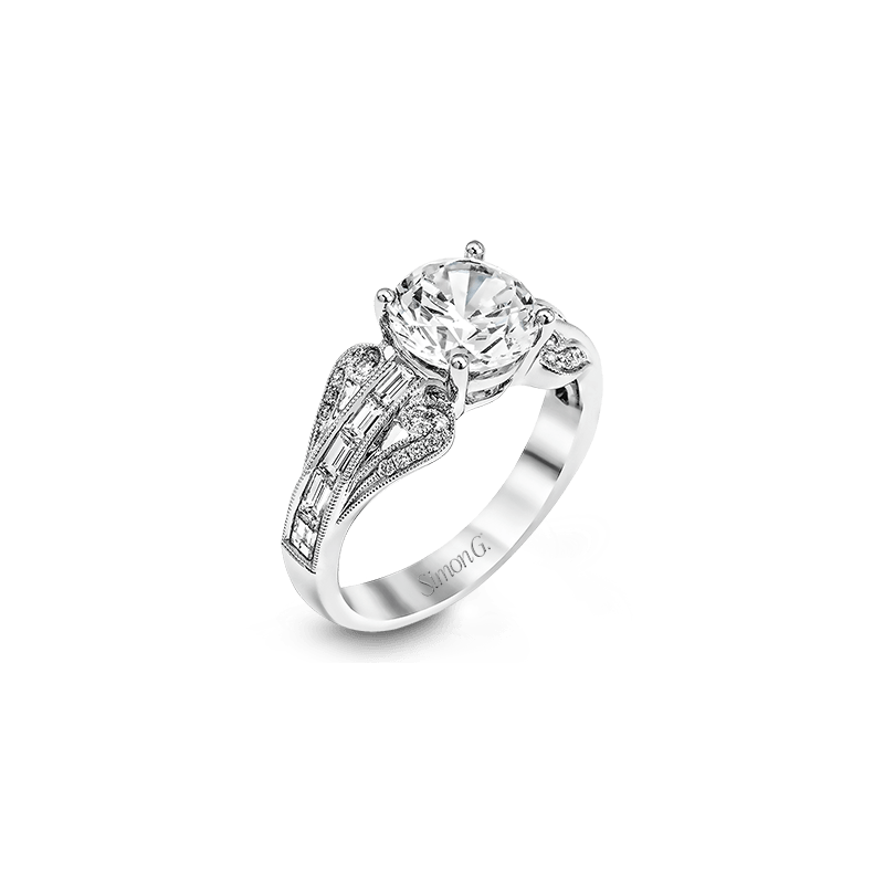 Simon G TR565 ENGAGEMENT RING
