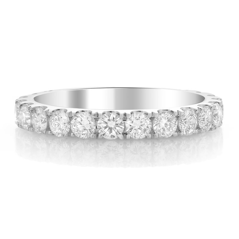 Roman & Jules White Gold Diamond Eternity Band