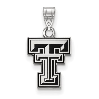 Sterling Silver Texas Tech University NCAA Pendant