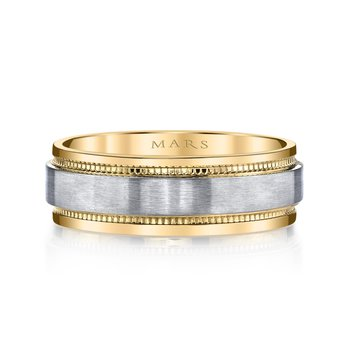 MARS G133 Men's Wedding Band